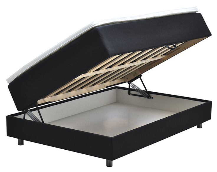 Seng med lagringsplass google s k smarte senger for Couch 90x200