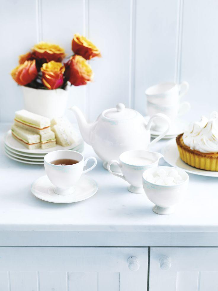 Tea and cake with donna hay modern nostalgia teaware by Royal Doulton