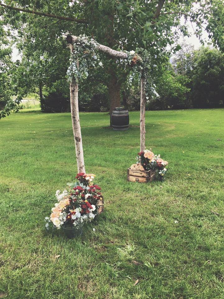Wedding Arch #bohowedding #thevintagetree