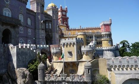 Sintra - castle town near Lisbon