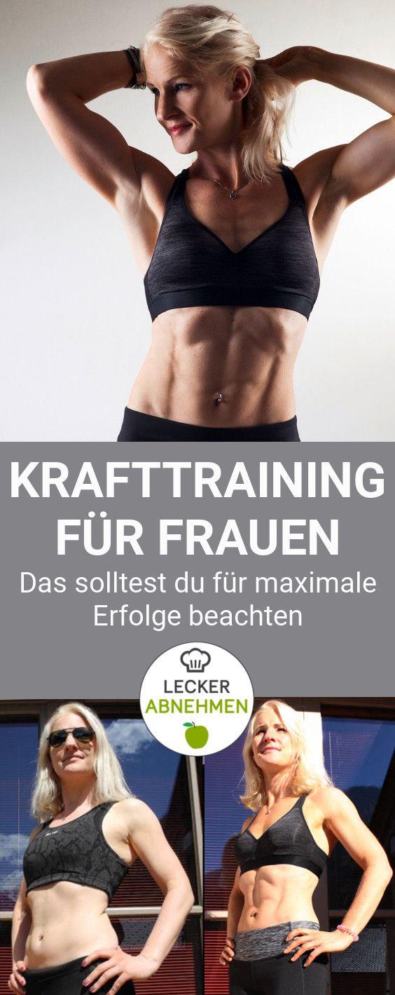 Krafttraining für Frauen – Die komplette Anleitung mit Trainingsplan – Katharina Petzenberger