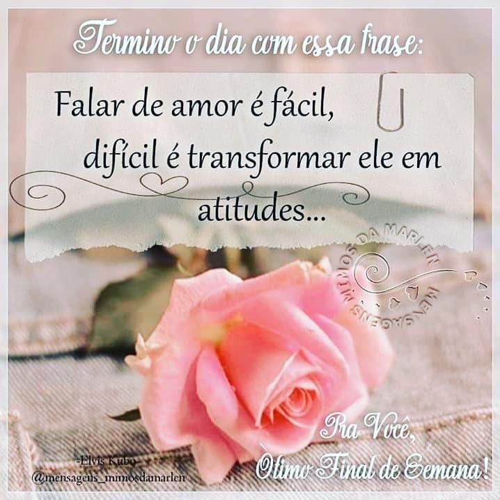 Fimdesemana Tranquilidade Amor Paz Seguiremfrente Deus