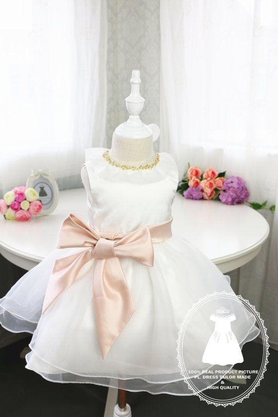 HOT Toddler/Infant/Baby/Newborn Flower Girl Dress Glitz por PLdress