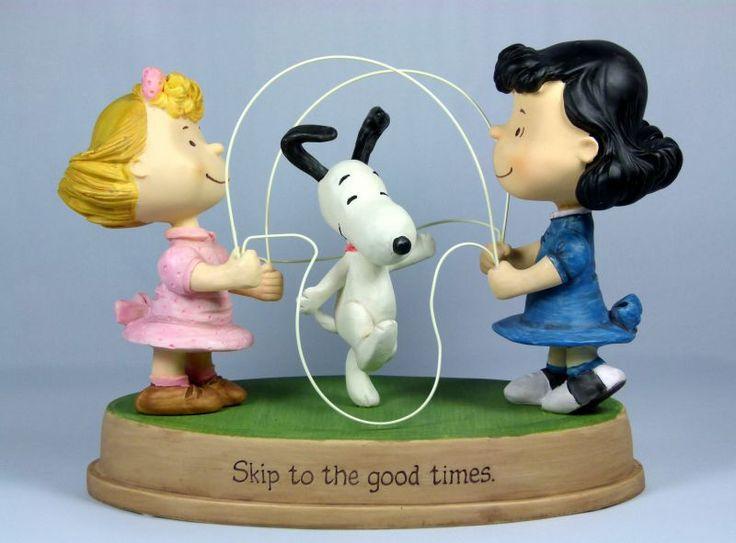 Snoopy Skipping Rope Figurine