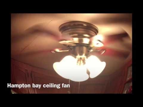 Hampton Bay Littleton Ceiling Fan - YouTube