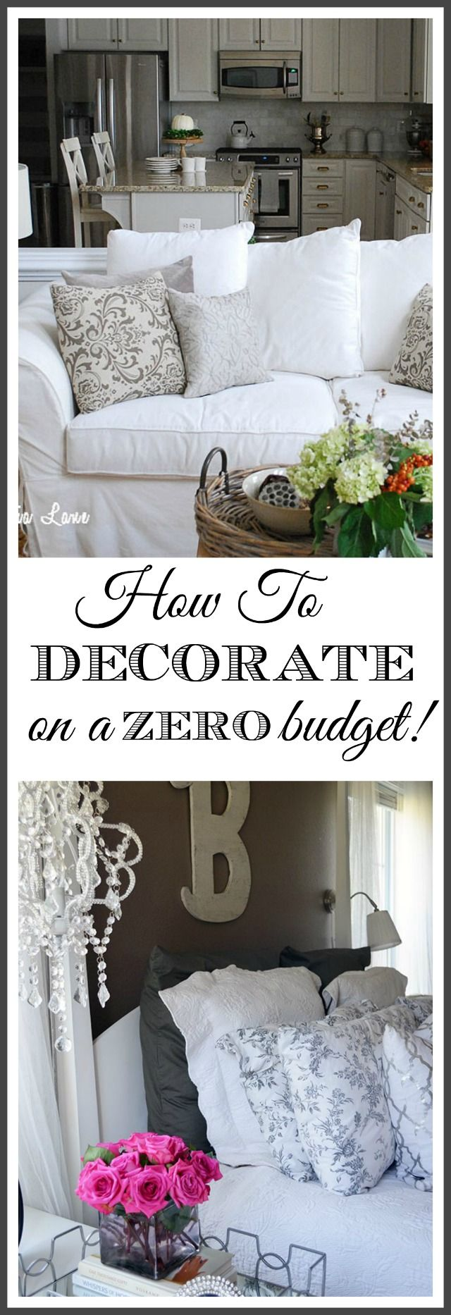 How to Decorate Your Home When You Don't Have a Budget for It. | 11 Magnolia Lane