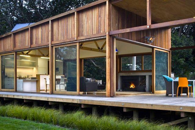 ニュージーランドのとある島に、太陽エネルギーだけで暮らすとってもオシャレな家があると言う 2