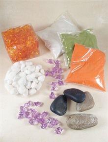 SABBIA - SASSI VERI - GHIACCIO IN PLASTICA. Clicca e scopri i colori disponibili