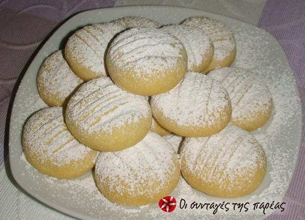Γευστικά μπισκότα βανίλιας #sintagespareas
