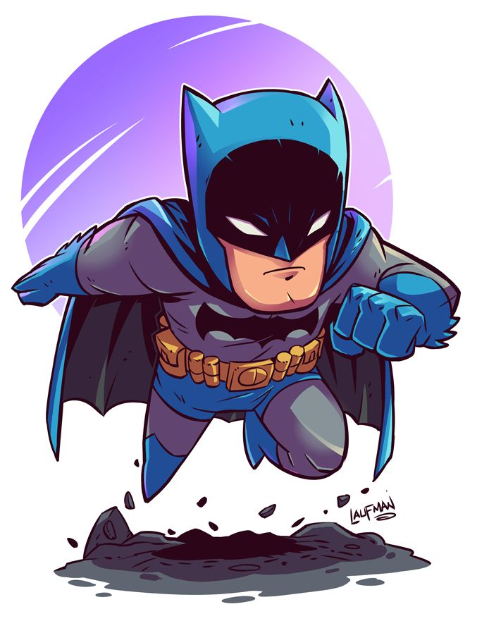 Chibi Batman by DerekLaufman on @DeviantArt