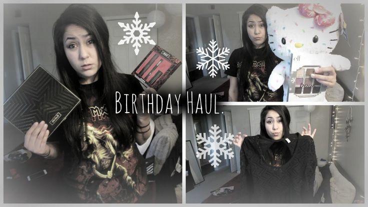 Birthday Haul.♡ Free People,Sephora,Kat Von D