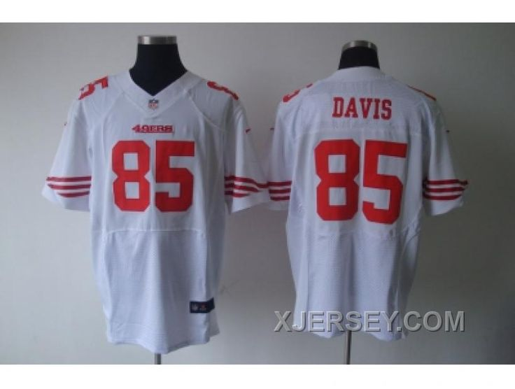 http://www.xjersey.com/nike-nfl-san-francisco-49ers-85-davis-white-elite-jerseys-for-sale.html NIKE NFL SAN FRANCISCO 49ERS #85 DAVIS WHITE ELITE JERSEYS FOR SALE Only $38.00 , Free Shipping!