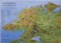 Fir Tree Maps Donegal Laminated