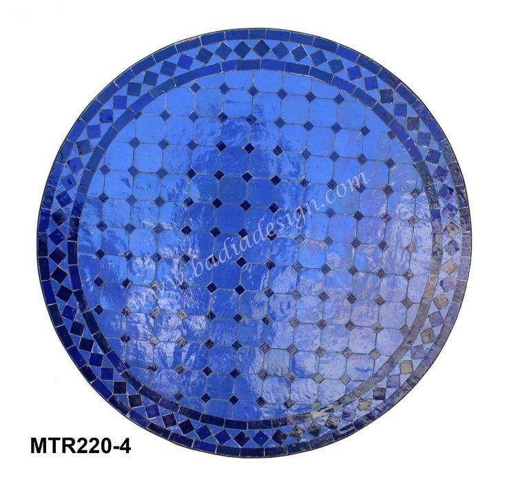 Badia Design Inc Store - Round Mosaic Tile Table - MTR220, $382.50 (http://www.badiadesign.com/round-mosaic-tile-table-mtr220/)