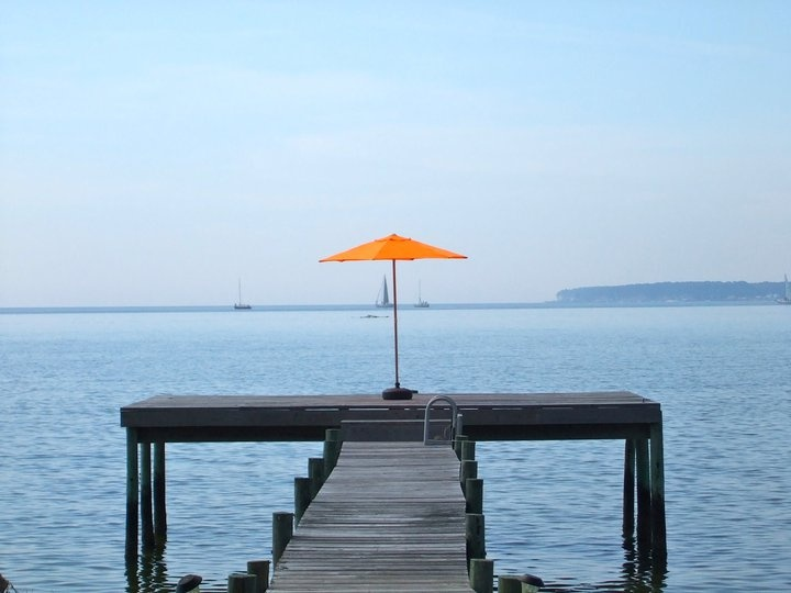 The cover of Conde Nast Traveler? Nope. It's my favorite place, Deltaville.
