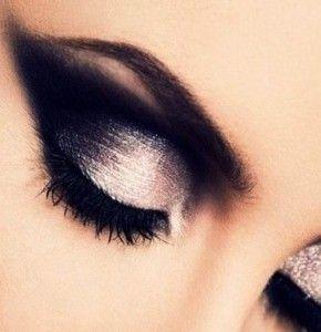 Ako vytvoriť dymové líčenie očí 2