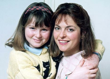 Janet Ellis with her daughter Sophie Ellis Bextor