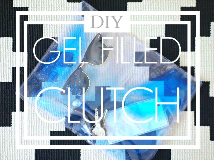 DIY Gel filled Clutch