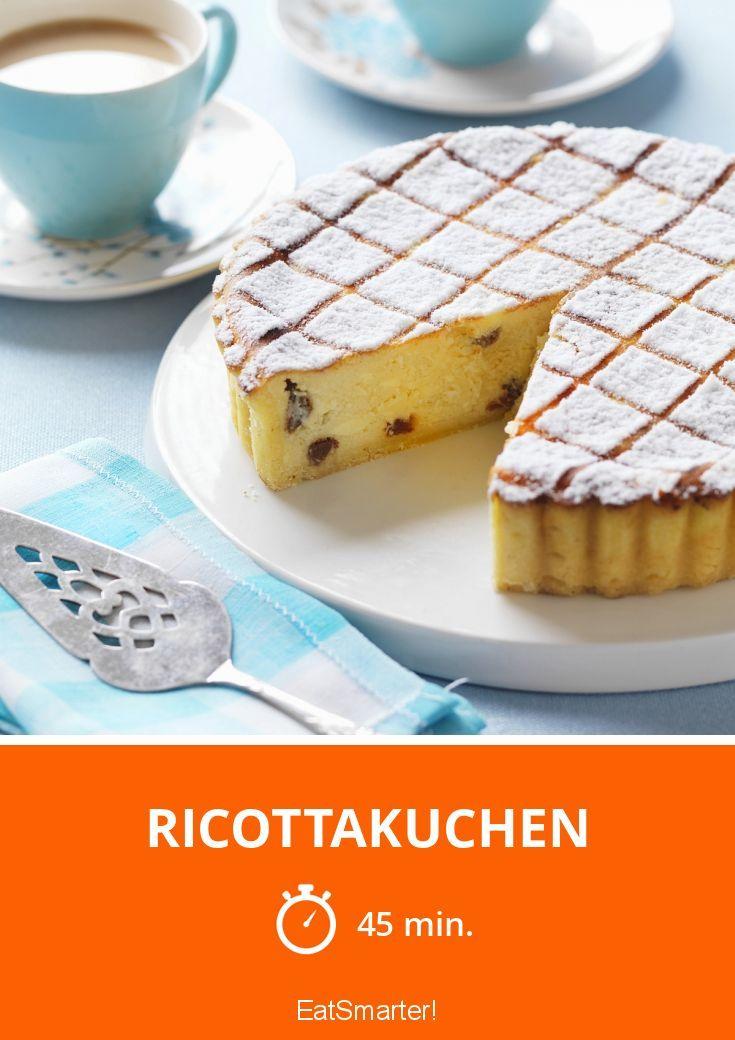 Ricottakuchen - smarter - Zeit: 45 Min. | eatsmarter.de