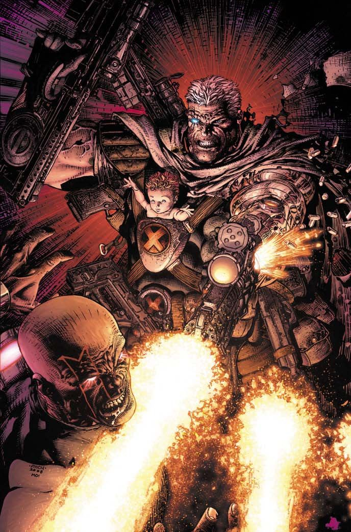 Cable #2 (Variant Cover)/Search//Home/ Comic Art Community GALLERY OF COMIC ART