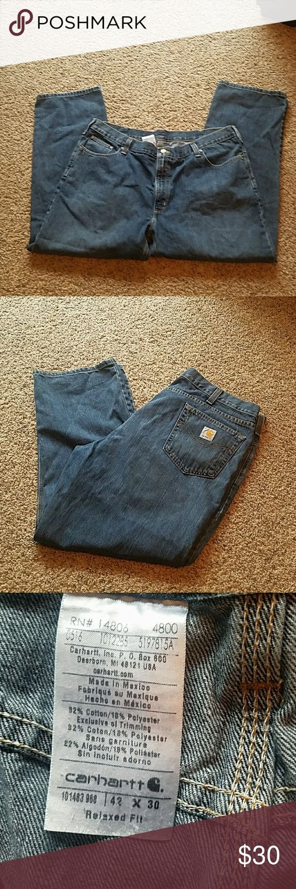 NWOT CARHARTT JEANS NWOT MEN'S CARHARTT jeans. SIZE 42X30. Perfect condition. Boot cut. Make an offer! Smoke free home! Carhartt Jeans Bootcut