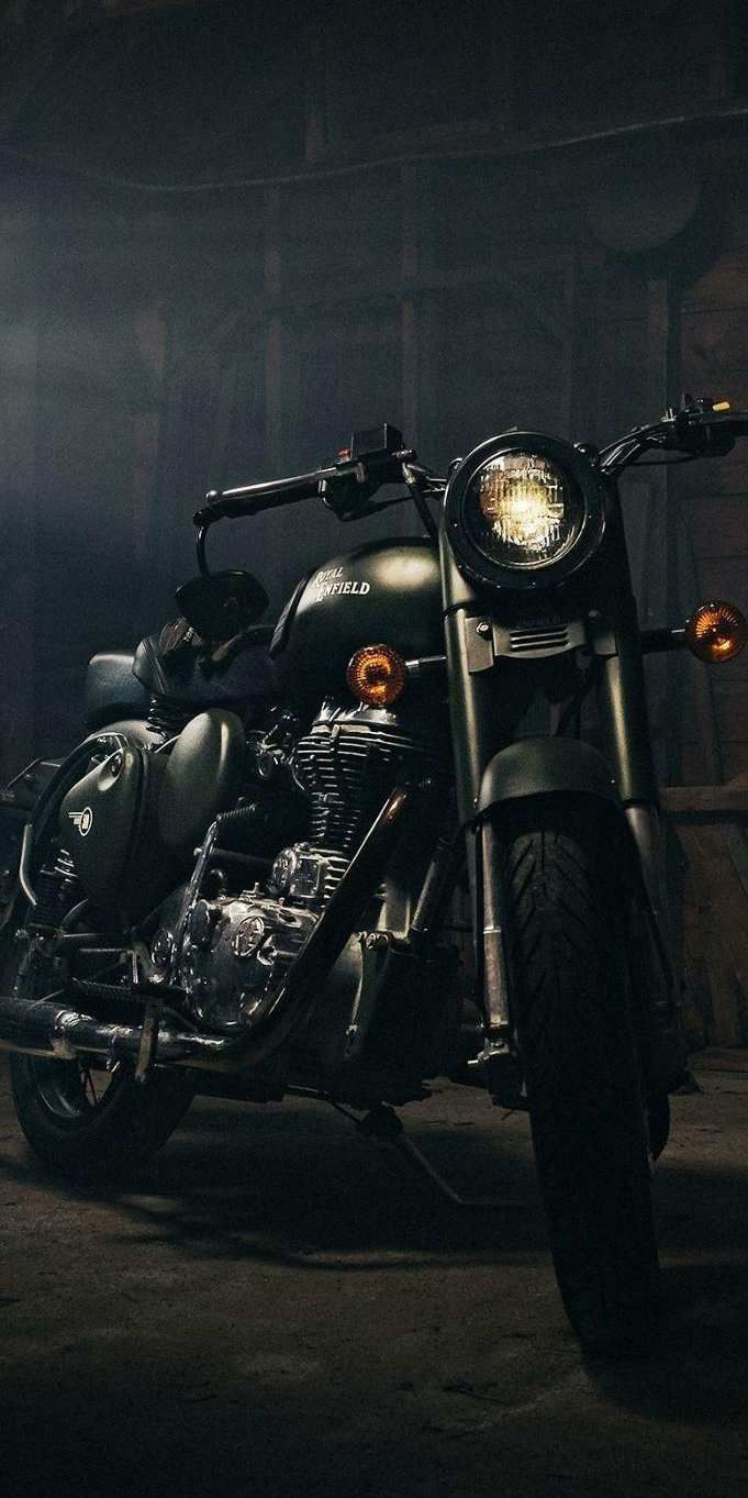 Royal Enfield Bike Iphone Wallpaper Bullet Bike Royal Enfield