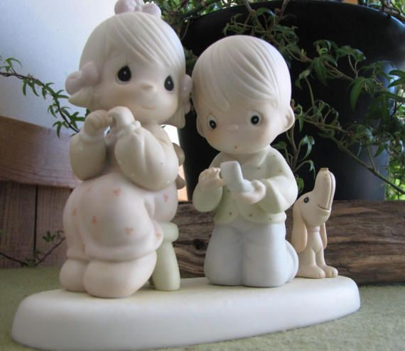 Precious Moments With This Ring I.Figurine Retired by LazyYVintage