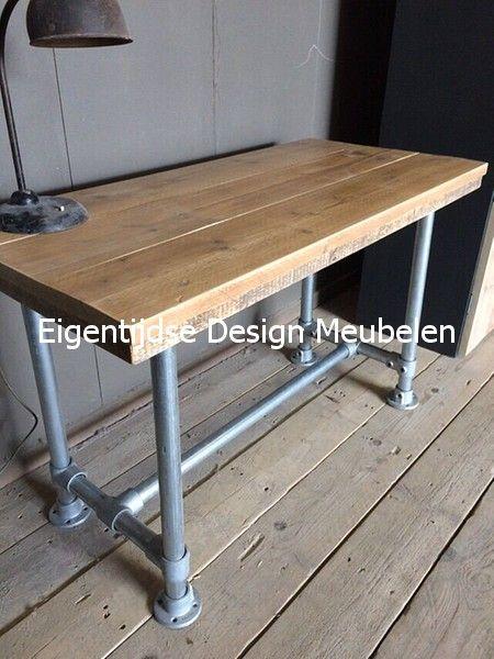 101 best steigerbuis binnen meubels images on pinterest - Eigentijdse eettafel ...