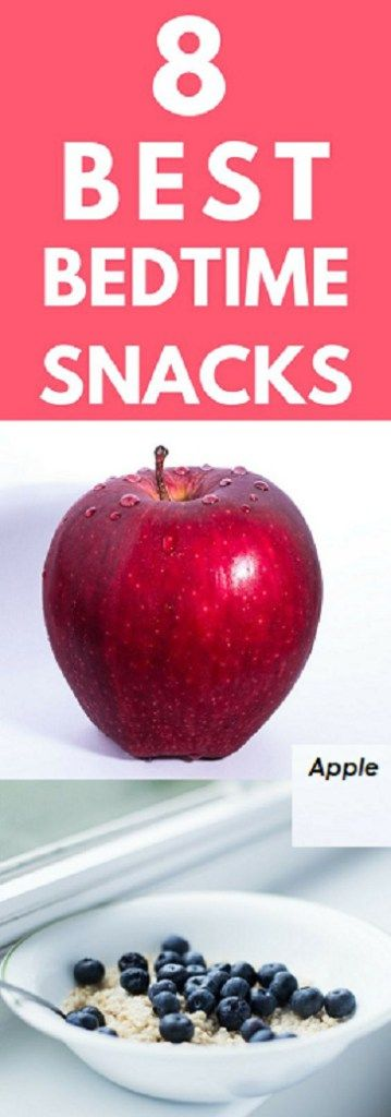 Best bed times snacks