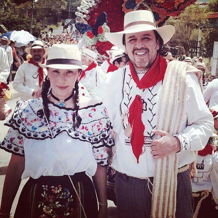 traje típico Velez Santander