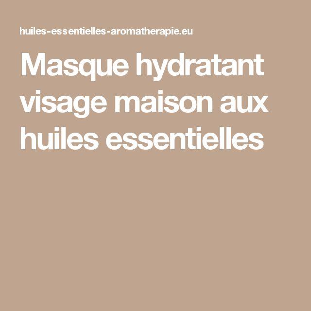 17 meilleures id es propos de masque hydratant visage maison sur pinterest masque hydratant. Black Bedroom Furniture Sets. Home Design Ideas
