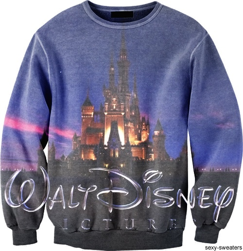 Walt Disney sweater - sexy sweaters