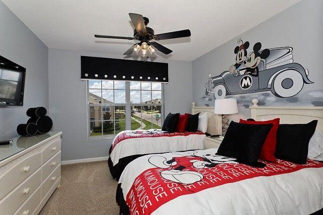 Disney-Inspired Kids Bedroom Ideas
