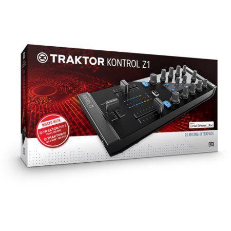 Native Instruments Traktor Kontrol Z1 DJ Mixer, Multicolor