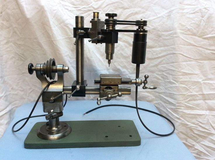 17 Best Images About Watchmaker Old Belt Driven Drill