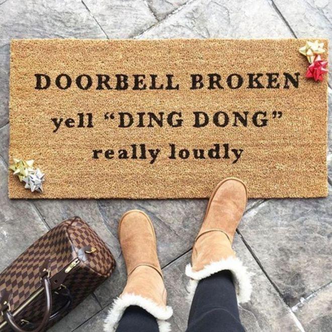 Cover Charge Doormat Welcome Mat Tacos Funny Doormat Wine