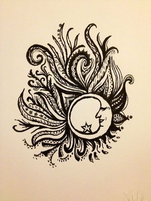 You are my moon and stars. I absolutely love this!!! This would be an amazing tattoo idea!!!