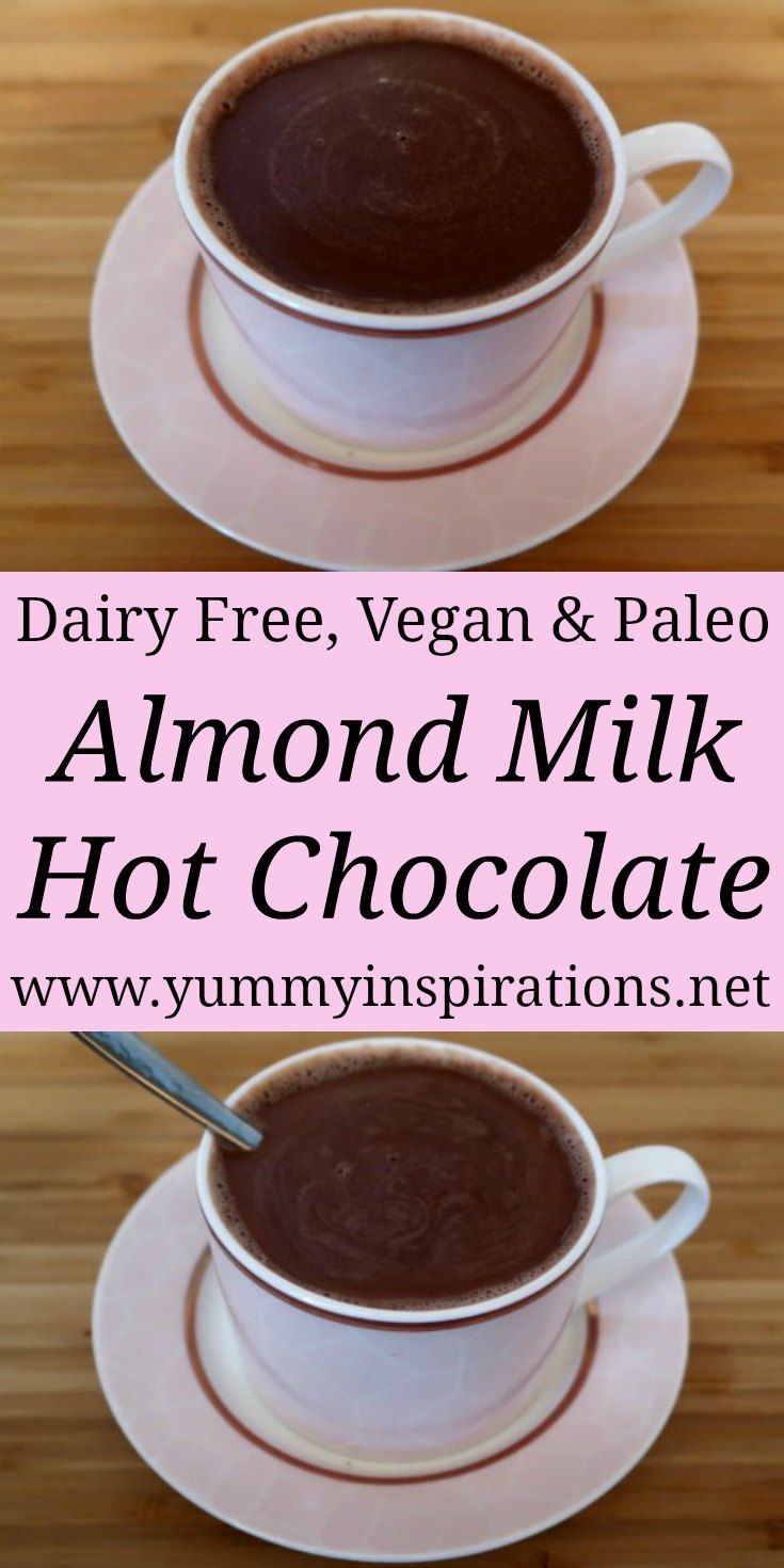 Almond Milk Hot Chocolate Recipe With Images Almond Milk Hot Chocolate Recipe Hot Chocolate Recipes Hot Chocolate With Almond Milk