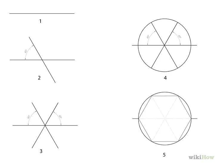 Imagem intitulada Build a Hexagon Picnic Table Step 2Bullet1