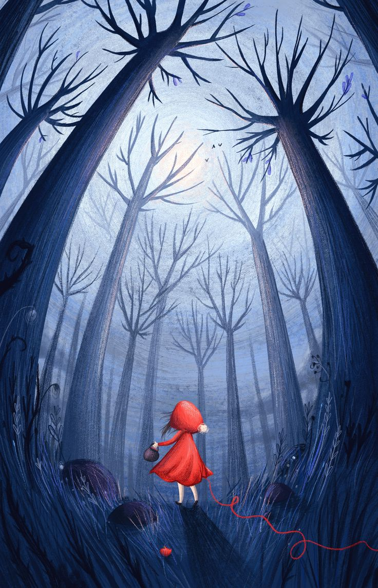 Little Red Riding hood - Lucy Fleming Illustrations