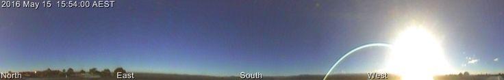 Mount Stromlo All Sky Panorama