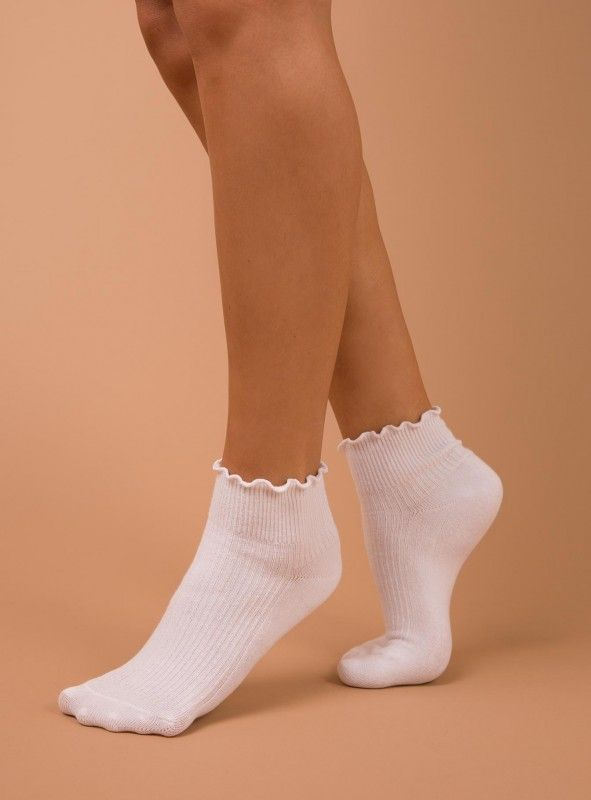 LADIES CLASSY BEIGE WITH CLASSIC HEART DESIGN SOCKS ONE SIZE FITS ALL