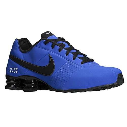Royal Blue And Black Nike Shox