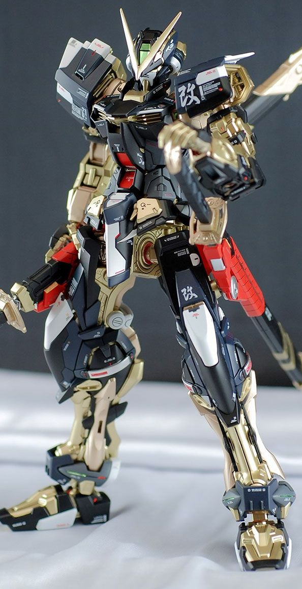 GUNDAM GUY: MG 1/100 Gundam Astray Red Frame - Painted Build