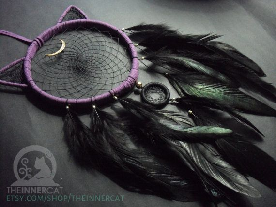 *** Dream Catcher Details *** - Hoop Size: approx 13.5cm wooden hoop - Small Hoop Size: approx 3.5cm - Hanging Length: approx 47.5cm - Hoop is