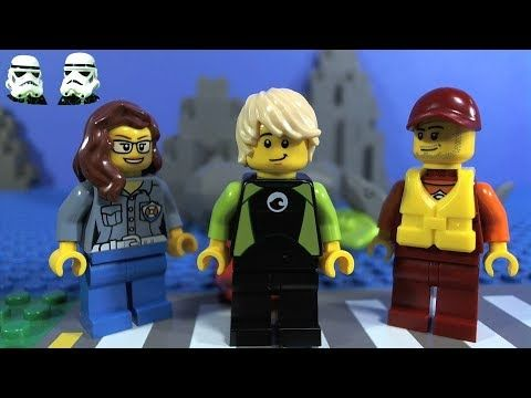 LEGO Coast Guard Starter Set Stop Motion