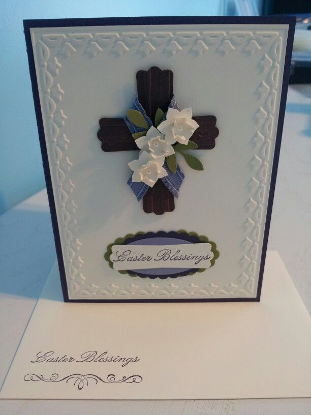 Stampin Up Easter Blessings
