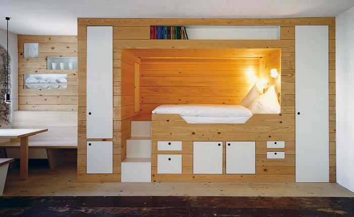 Cabin+bed+storage