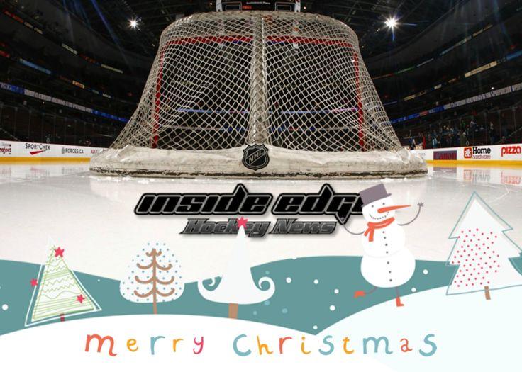 Merry Christmas from the Inside Edge Hockey News