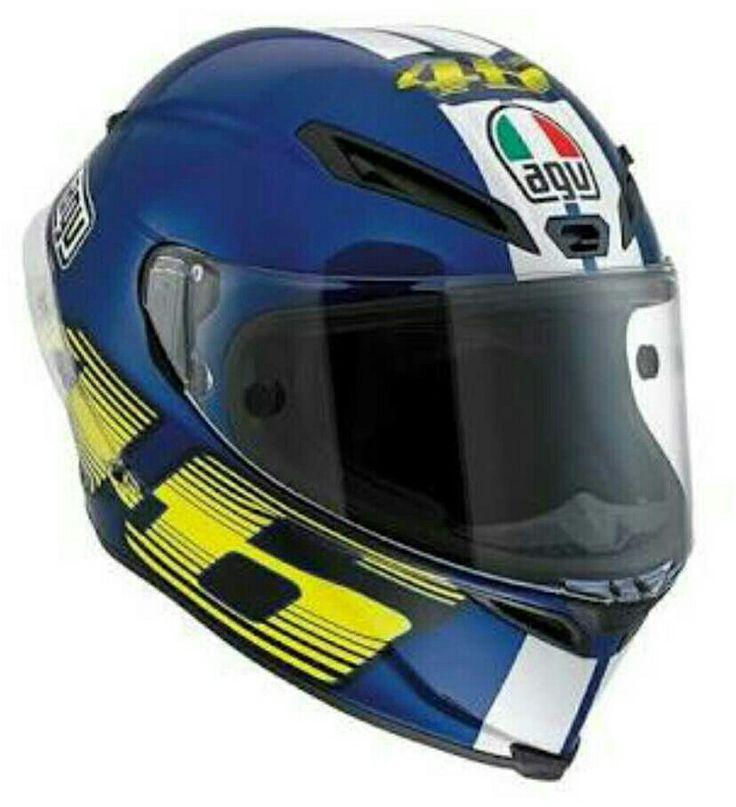 AGV Rossi Blue White